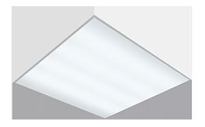Светодиодный светильник 595х595х50 мм «Премиум» для образовательных учреждений