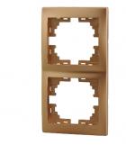 Рамка 2-ая вертикальная б/вст