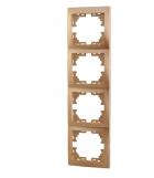 Рамка 4-ая вертикальная б/вст