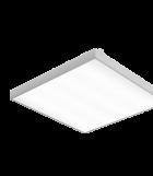 Светодиодный светильник 588х588х50 мм Грильято подвесной