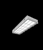 Светодиодный светильник 595х200х65мм для спортивных помещений