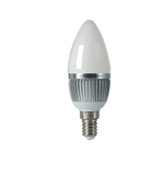 Светодиодная лампа gauss свеча матовая 6W